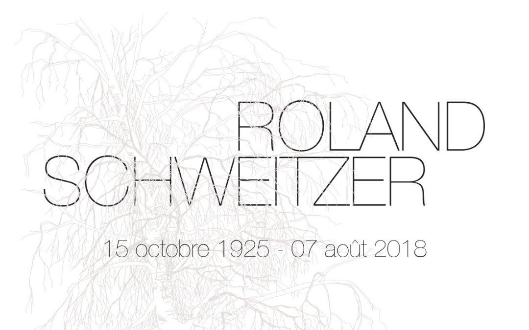 Disparition de Roland Schweitzer
